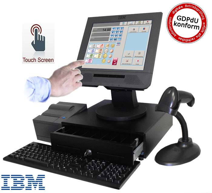 Ibm All In One Anyplace Kiosk Einzelhandel Touchscrren