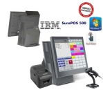 All In One IBM Surepos 500 Einzelhandel 38,2cm( 15,1'') Touchscreen Windows 7 Neuwertig GDPDU